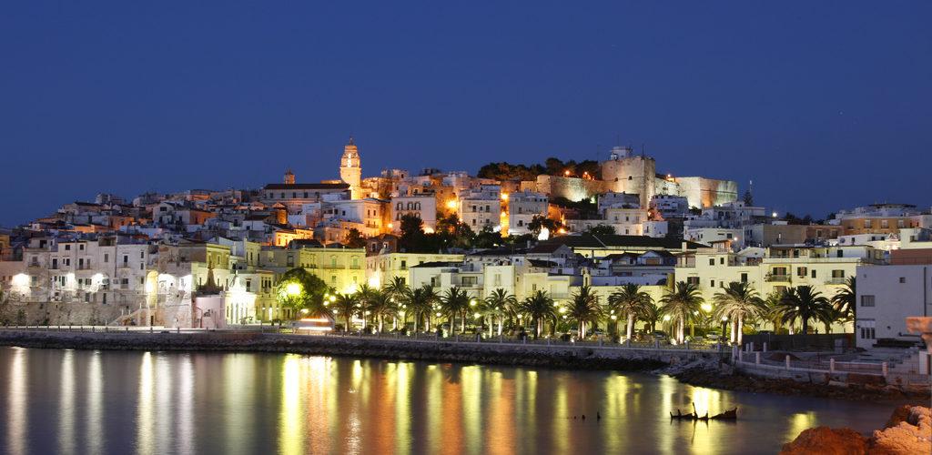 Villaggio Alga Blu - Vieste visule notturna